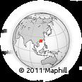 Outline Map of Taishan, rectangular outline