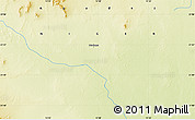 """Physical Map of the area around 21°53'23""""N,13°40'30""""E"""