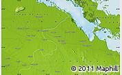 Physical Map of San Severo