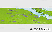 Physical Panoramic Map of San Severo