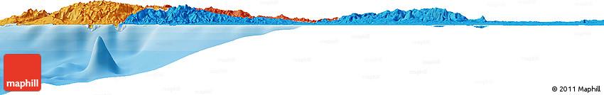Political Horizon Map of Caracusey