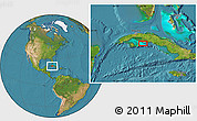 """Satellite Location Map of the area around 21°53'23""""N,81°31'30""""W"""