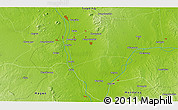 """Physical 3D Map of the area around 21°53'23""""N,95°16'30""""E"""