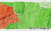 Political 3D Map of Zigon