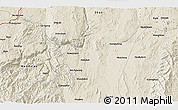 Shaded Relief 3D Map of Zigon
