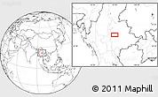 Blank Location Map of Zigon