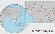 Gray Location Map of Zigon