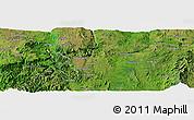 Satellite Panoramic Map of Zigon