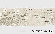 Shaded Relief Panoramic Map of Zigon