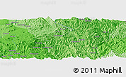 """Political Panoramic Map of the area around 21°53'23""""N,98°40'30""""E"""