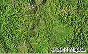Satellite Map of Möng Hka-no