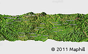 Satellite Panoramic Map of Wān Ho-hawm