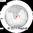 Outline Map of Rutenga Primary School, rectangular outline