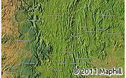 Satellite Map of Ifanadiana