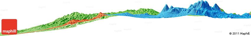 Political Horizon Map of Quehuita