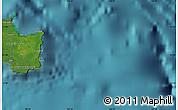 "Satellite Map of the area around 21°33'19""S,168°22'30""E"