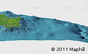 "Satellite Panoramic Map of the area around 21°33'19""S,168°22'30""E"