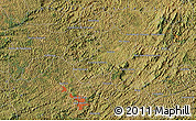 "Satellite Map of the area around 21°33'19""S,43°16'29""W"