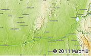 Physical Map of Beroroha