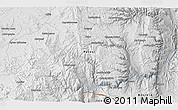 """Physical 3D Map of the area around 21°33'19""""S,66°13'29""""W"""