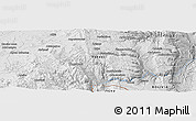 """Physical Panoramic Map of the area around 21°33'19""""S,66°13'29""""W"""