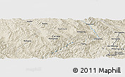 Shaded Relief Panoramic Map of Dadugang