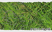 """Satellite 3D Map of the area around 22°23'25""""N,102°4'29""""E"""