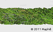"Satellite Panoramic Map of the area around 22° 23' 25"" N, 102° 4' 29"" E"
