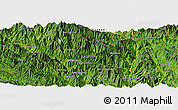 Satellite Panoramic Map of Bản Nằm Nga