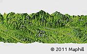 "Satellite Panoramic Map of the area around 22°23'25""N,104°37'30""E"