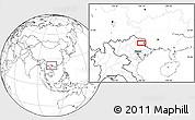 Blank Location Map of Bản Chu