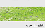 Physical Panoramic Map of Lincun