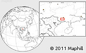 Blank Location Map of Anli