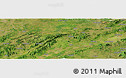 "Satellite Panoramic Map of the area around 22° 23' 25"" N, 108° 52' 30"" E"