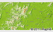 """Physical 3D Map of the area around 22°23'25""""N,112°16'30""""E"""