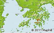 Physical Map of Shatoujiao