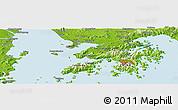Physical Panoramic Map of Shatoujiao