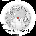 Outline Map of NAIRUTI Park, rectangular outline