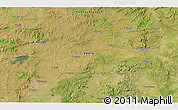 """Satellite 3D Map of the area around 22°23'25""""N,79°58'29""""E"""