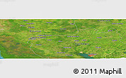 "Satellite Panoramic Map of the area around 22° 23' 25"" N, 80° 40' 30"" W"