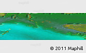 "Satellite Panoramic Map of the area around 22°23'25""N,82°22'30""W"