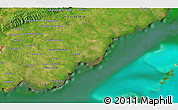 """Satellite 3D Map of the area around 22°23'25""""N,83°13'29""""W"""