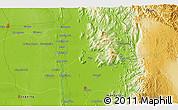 Physical 3D Map of Bubagan