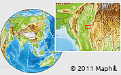 Physical Location Map of Bubagan