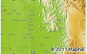 Physical Map of Bubagan