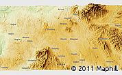Physical 3D Map of Mān Kun
