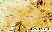 Physical Map of Mān Kun