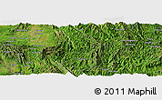 Satellite Panoramic Map of Kawngleng