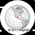 Outline Map of La Presa, rectangular outline