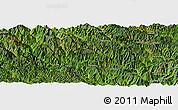 "Satellite Panoramic Map of the area around 22°53'22""N,102°4'29""E"